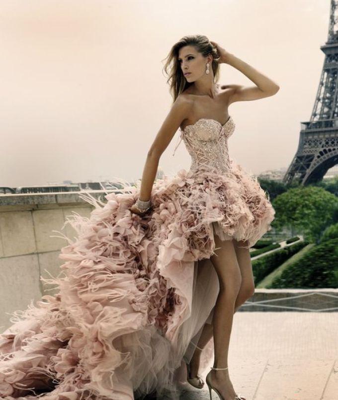 Женская одежда шик шарм - роскошное вечернее платье