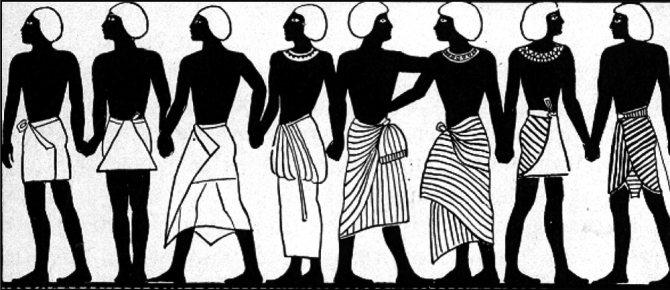 Женская юбка: от древности до наших дней, фото № 2