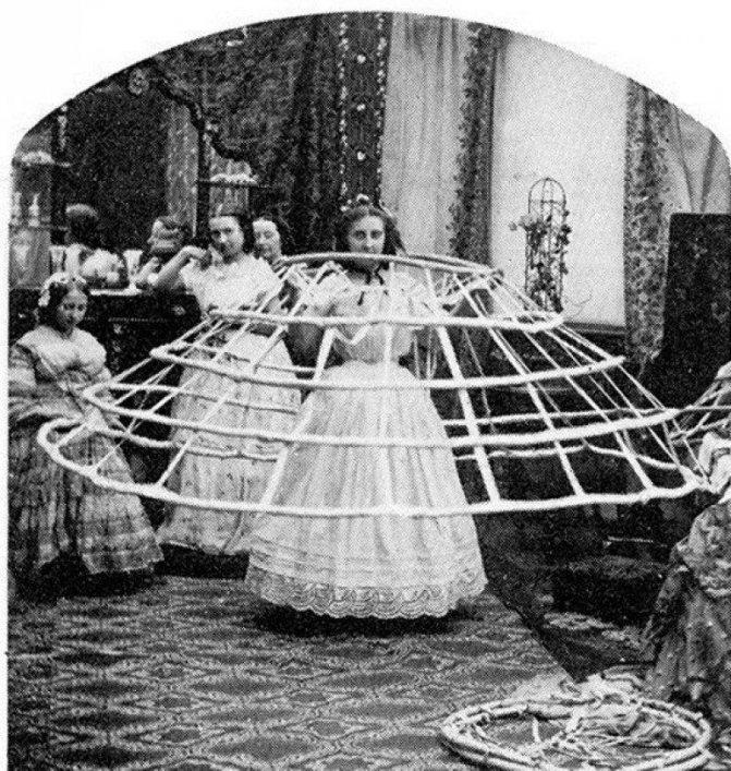 Женская юбка: от древности до наших дней, фото № 6