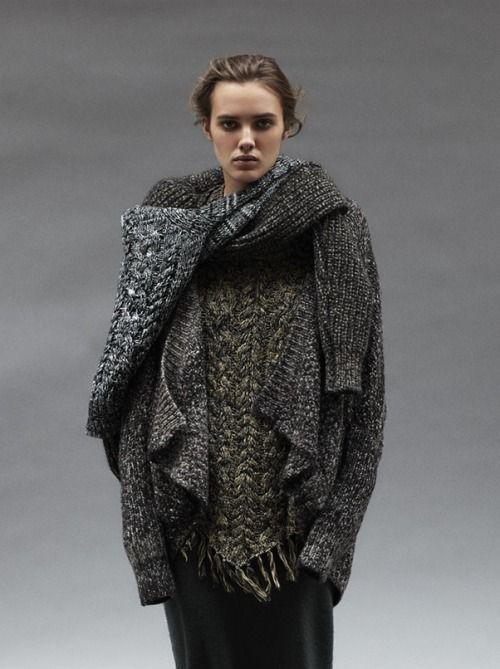 женская зимняя мода