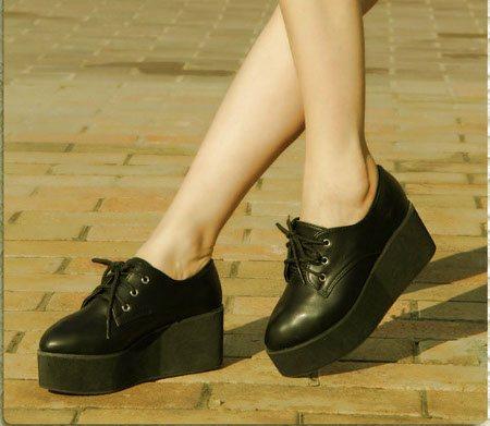 Женские ботинки осень 2014
