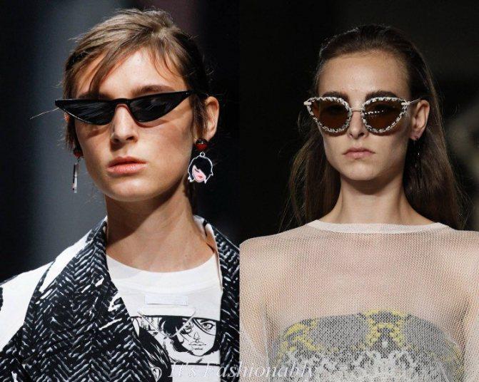 Женские солнцезащитные очки лето 2018