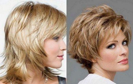 женские стрижки для тонких волос фото