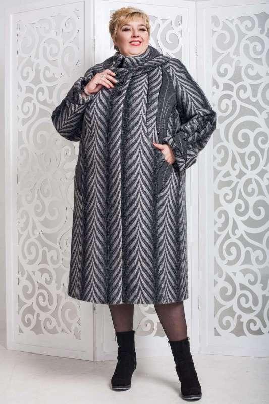 Женское зимнее пальто для полных женщин прямого кроя - Блог/Фаворитти