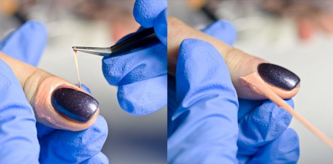 Жидкая лента для ногтей в маникюре как она работает