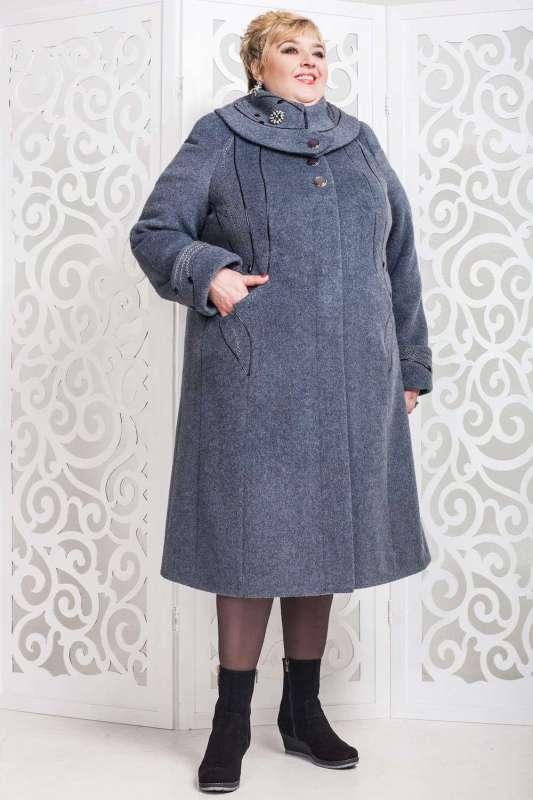 Зимнее пальто для полных женщин с расклешенным подолом - Блог/Фаворитти