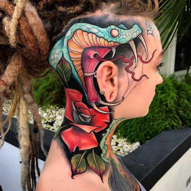 значение татуировки кобры