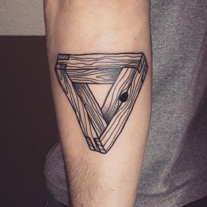 значение треугольника в тату