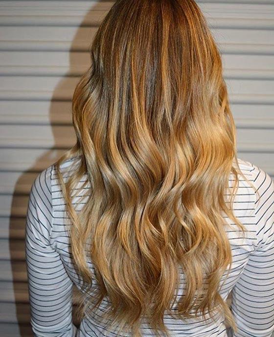 Золотой блонд